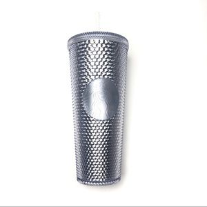 NEW Starbucks Silver Bling Venti Cold Cup Tumbler
